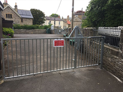 Galvanised Entrance Gate