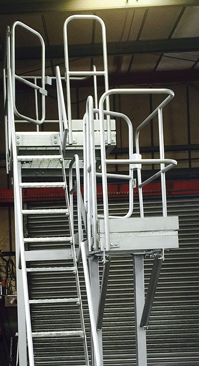 Galvanised Ladder & Platform