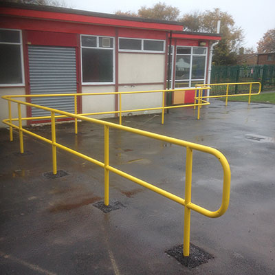 Powder Coated Handrail