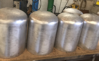 Stainless Steel Dome Heads