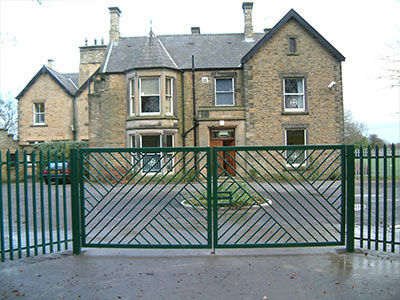 School Entrance Gates