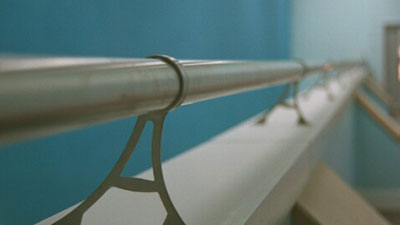 Stainless Steel Handrail On Legs
